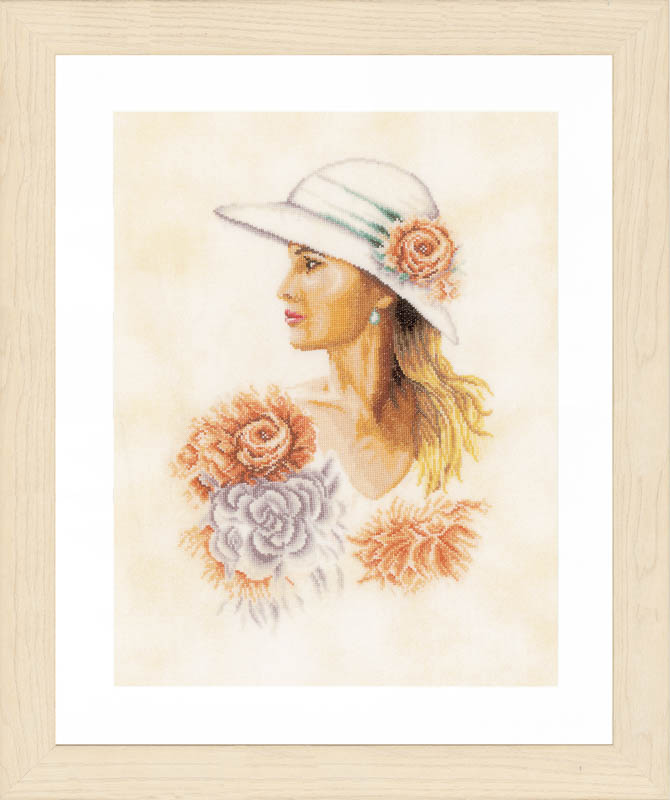 Lanarte Lady with Hat (Linen)