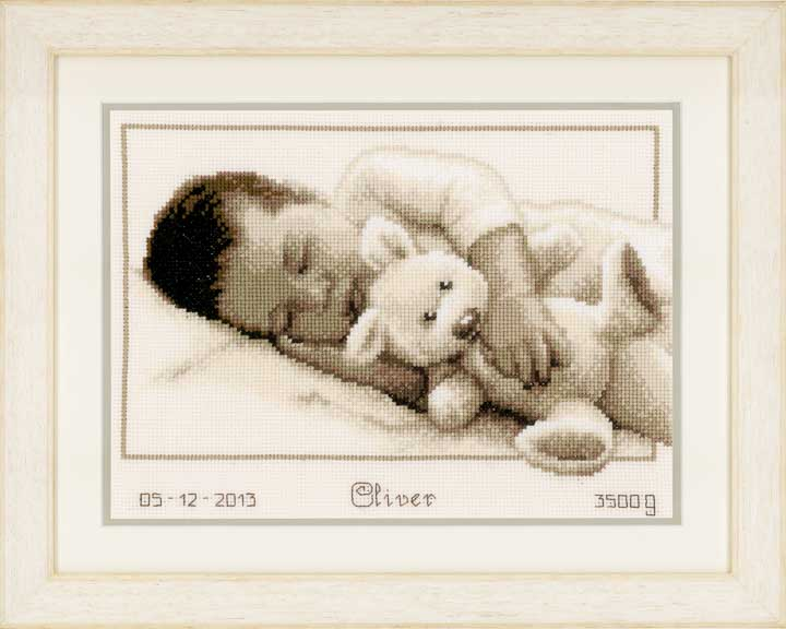 Counted Cross Stitch: Cuddling Birth & Babies CSK