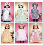 McCalls M3627/OS | 18 Doll Clothes | One Size | Sewing Pattern