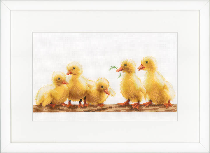 Counted Cross Stitch: Kit: Young Ducklings
