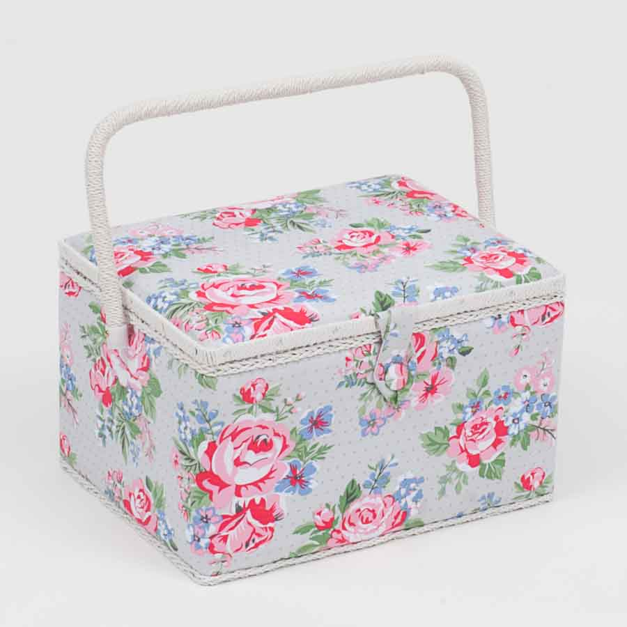 HobbyGift MRL_443 | Sewing Box (L) | Rose