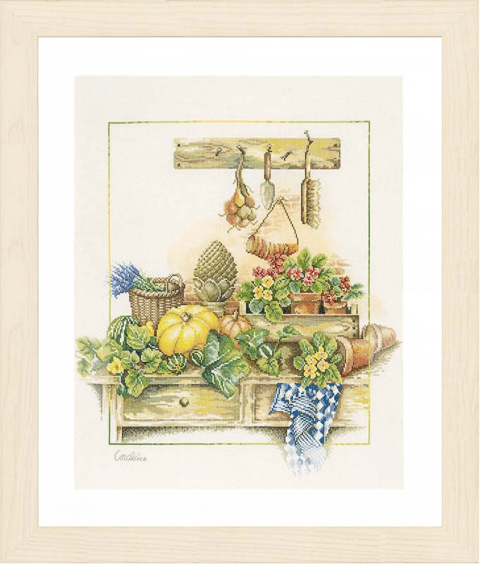 Lanarte Counted Cross Stitch Kit: Work-Bench Sports & Hobbies CSK