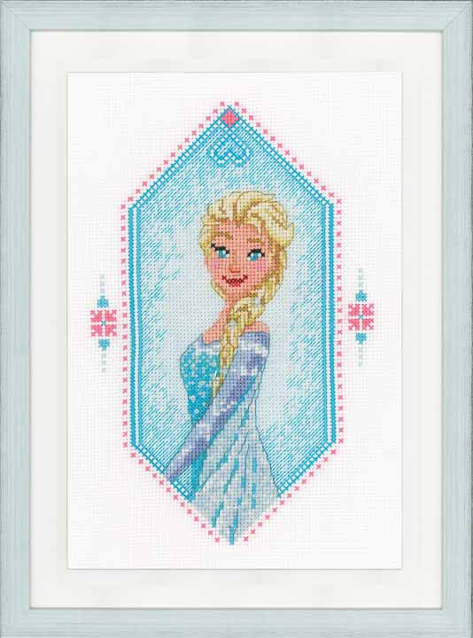 Counted Cross Stitch Kit: Frozen - Heart