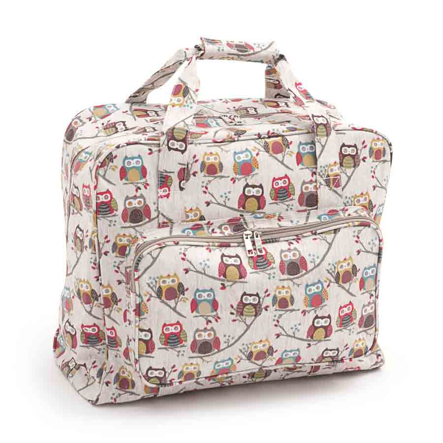 HobbyGift MR4660_195 | Sewing Machine Bag | Matt PVC | Hoot