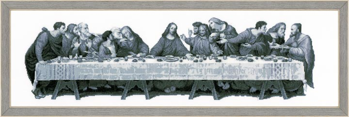 Counted Cross Stitch Kit: The Last Supper Faith and Celestial CSCK