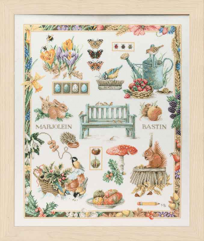 Lanarte Counted Cross Stitch Kit: Collage