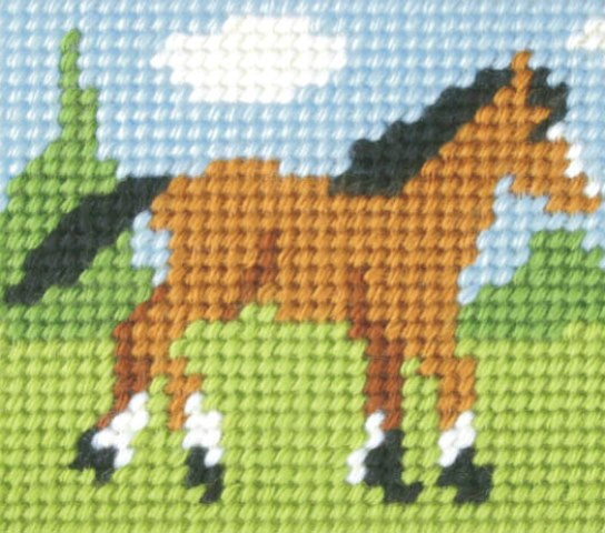 Orchidea Foal Embroidery Kit - Clearance