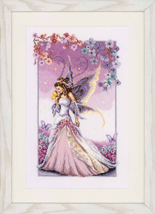 Counted Cross Stitch Kit - Purple Fairy Faith and Celestial CSCK