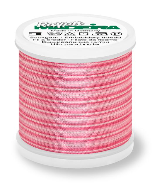 Madeira 9840_2021 | Rayon Multicolor Embroidery Thread 200m | Ombre Pinks