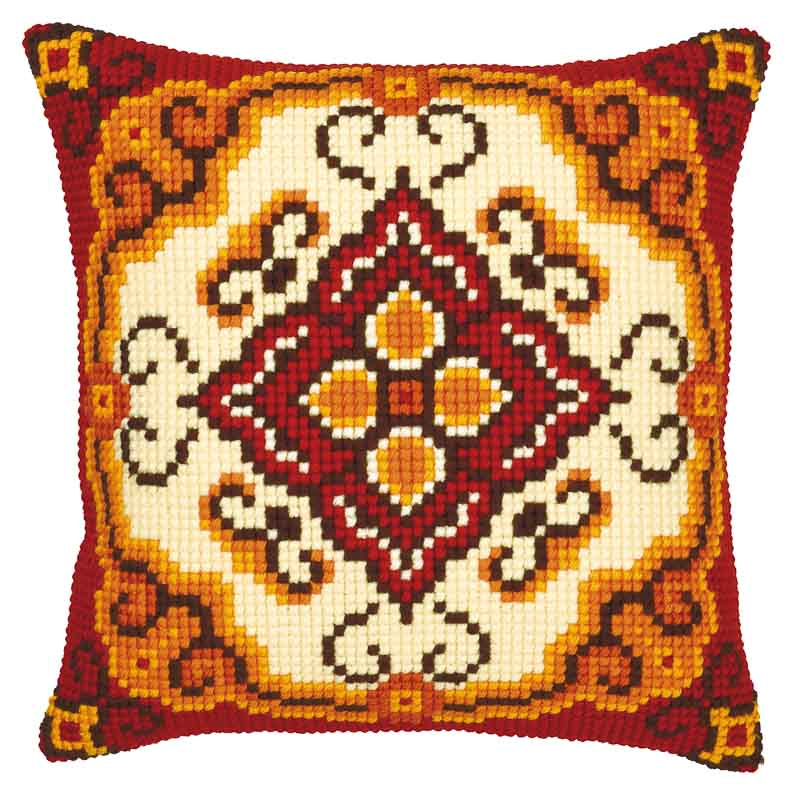 Vervaco Cross Stitch Cushion Kit: Star Patterns CSCK