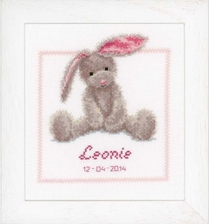 Counted Cross Stitch: Cute Bunny Animals & Birds CSK
