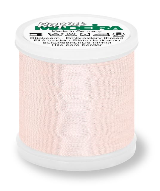 Madeira 9840_1013 | Rayon Embroidery Thread 200m | Pale Pink Madeira Rayon Embroidery Thread 200m