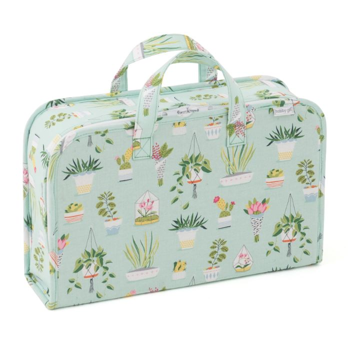 HobbyGift HGPC_511 | Project Case | Plant Life Tree Print Sewing Box