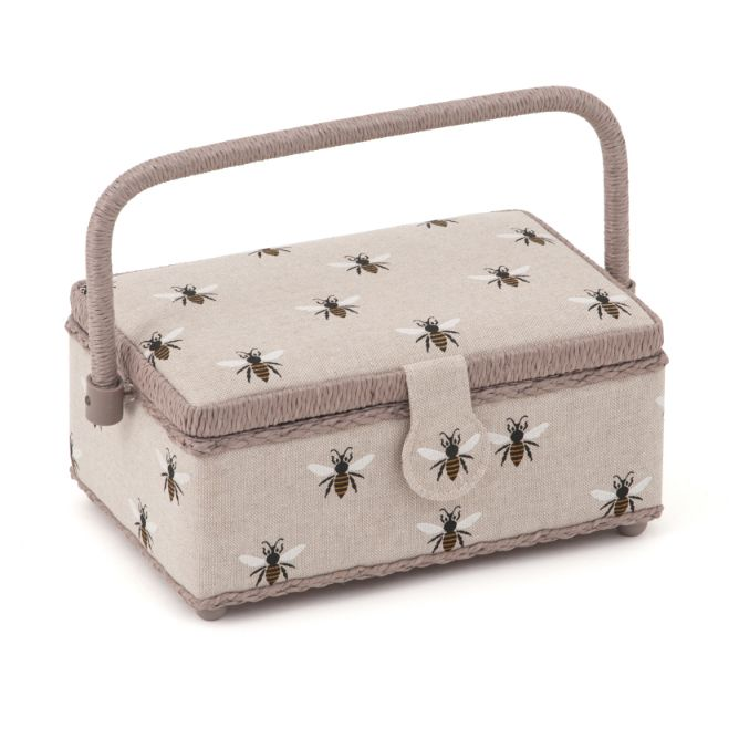 HobbyGift HGSR_347 | Sewing Box (S) | Linen Bee
