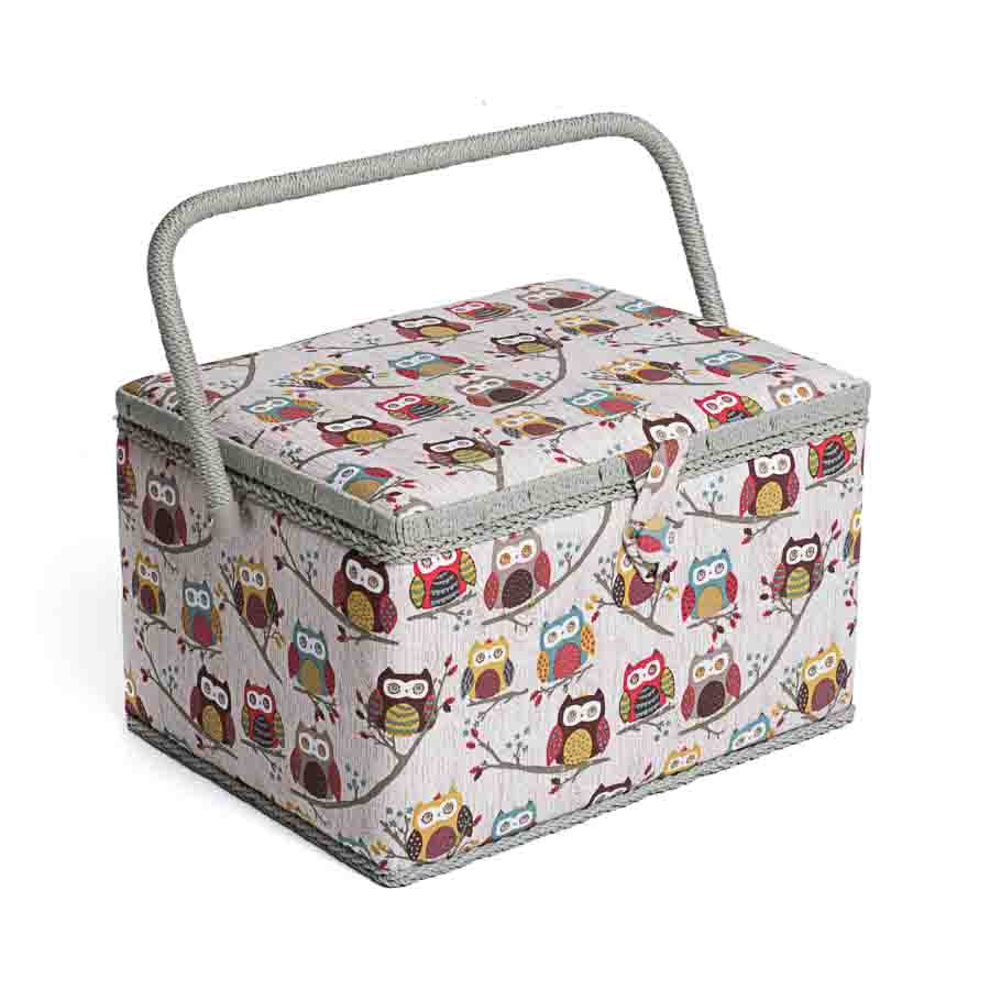 HobbyGift MRL_195 | Sewing Box (L) | Hoot