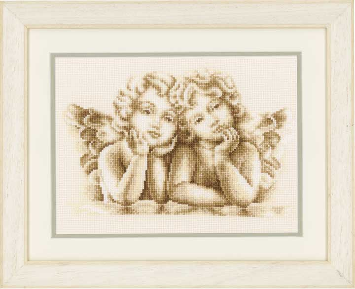 Counted Cross Stitch: Dreaming Angels Faith and Celestial CSCK