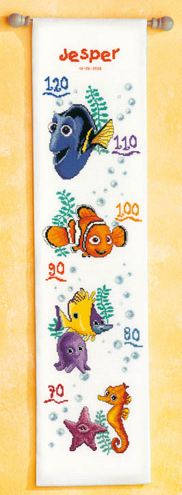 Vervaco Counted Cross Stitch Kit: Nemo