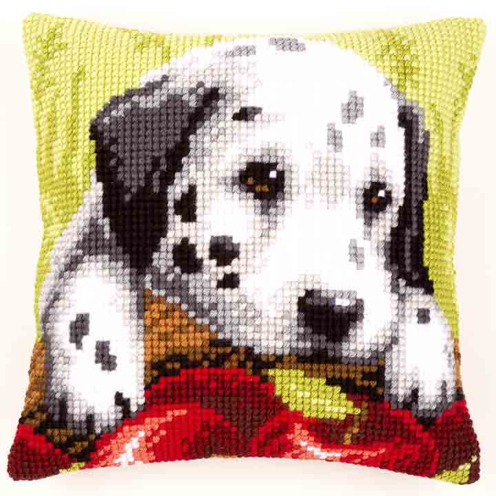 Vervaco Cross Stitch Cushion: Dalmatian