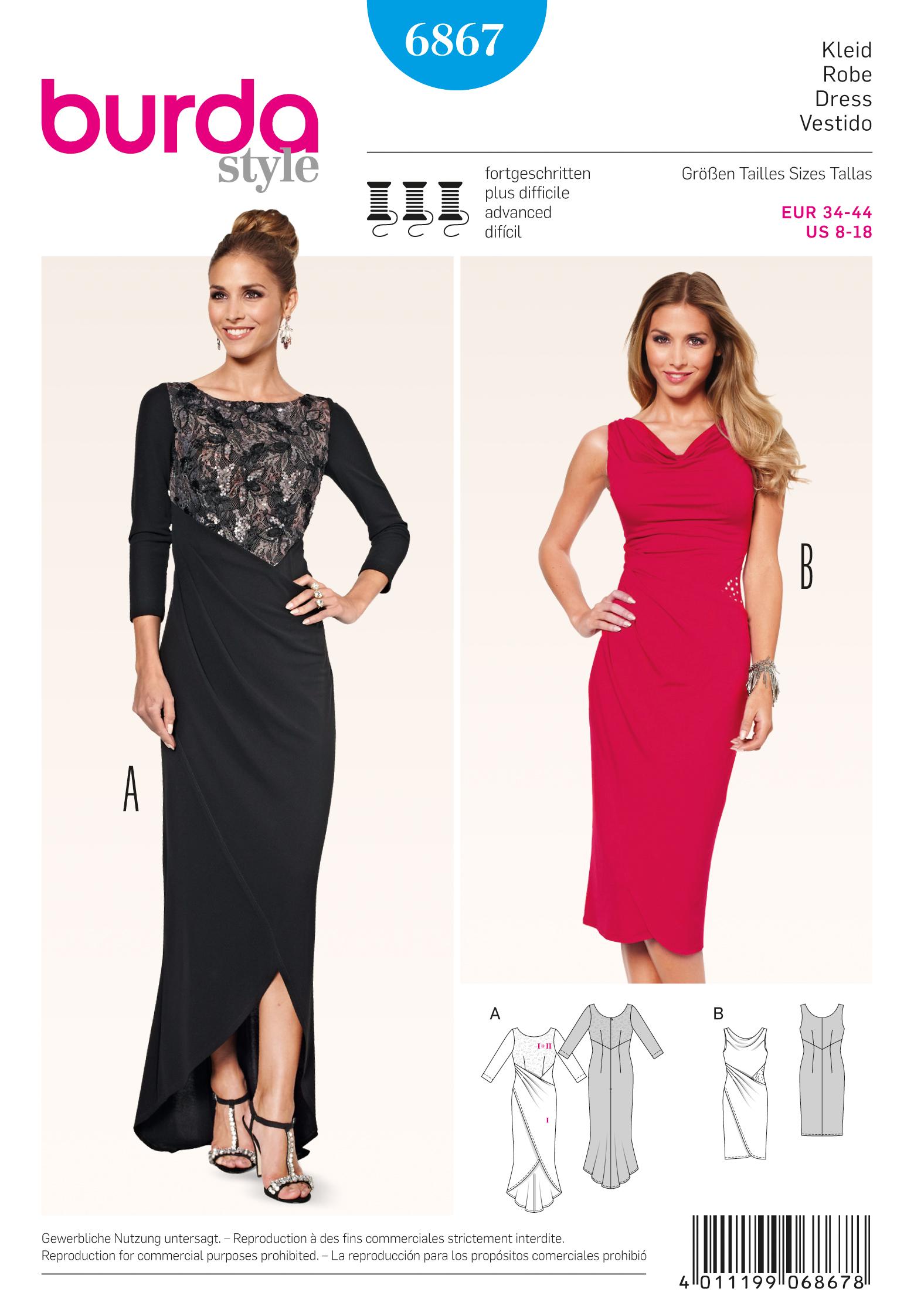 5c493ecb Burda Dress Patterns?start=50 for Sale UK   Buy Burda Dress Patterns ...