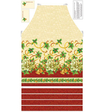 A Christmas Story Apron Fabric Panel