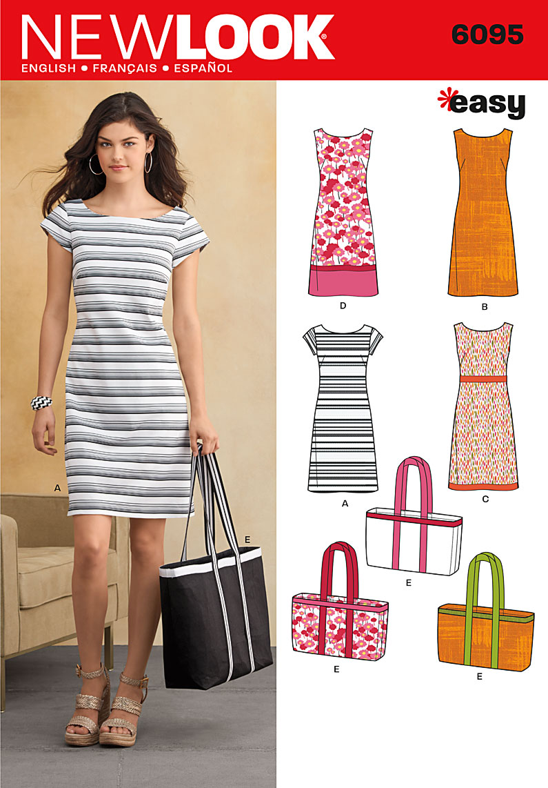 547c81255c New Look U06095A | Misses Dresses | Size A (10-12-14-16-18-20-22) | Sewing  Pattern - Haberdashery Online