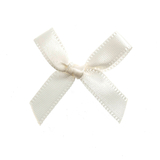 Antique White 7mm Bow 6pk