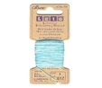 Clover Luxurious Embroidery Threads | Aqua and White Variegated | CL708/812 Embroidery Thread