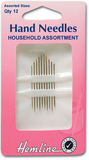 Assorted Household Needles 12 Pack