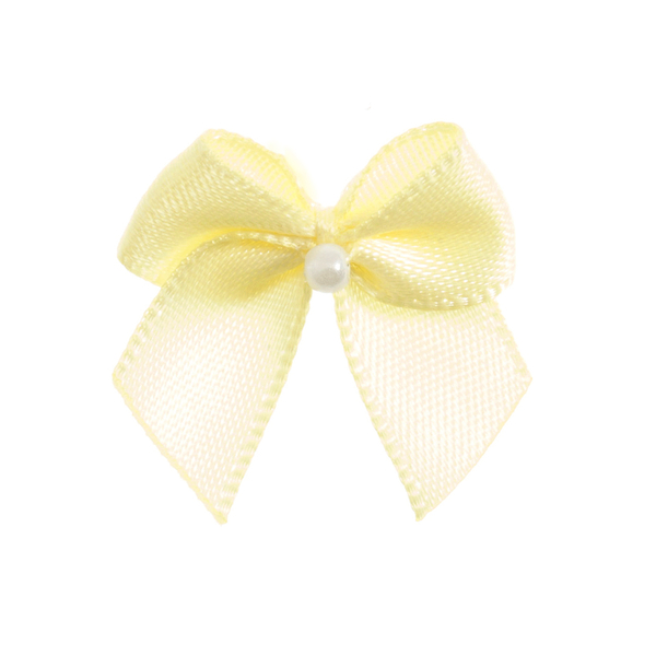 Baby Maize Pearl Crossover Bow 6pk