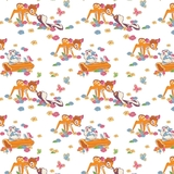 Disney Bambi & Friends Fleece Fabric