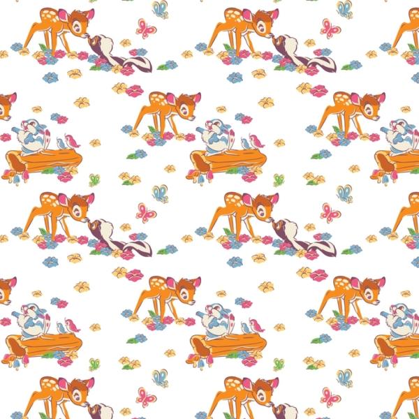 Disney bambi friends fleece fabric for Celestial fleece fabric