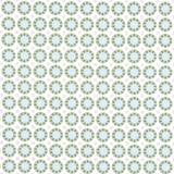 Blue Green Floral & Lilac Dots on White 1 Metre Fabric