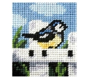 Blue Tit Embroidery Kit - Clearance