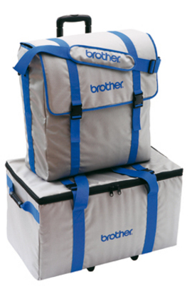 Brother 2 Piece Trolley Bag Set