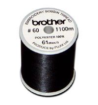 Brother Bobbin Thread - Black | XG6643001/EBTCEB