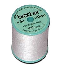 Bobbin Thread White P.E Series