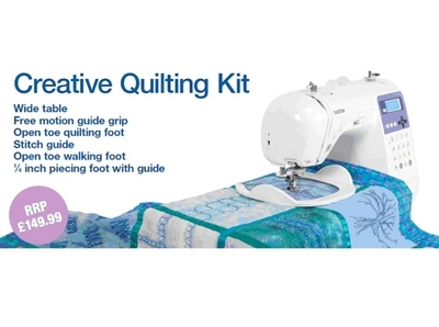 Brother Creative Quilting Kit Qkm1 Extension Table