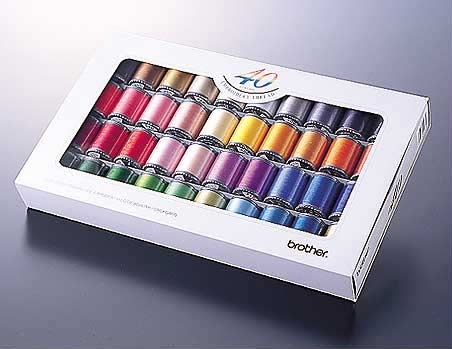 Embroidery Thread Set 40 Colours