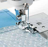 Husqvarna Viking 1/4 Inch Quilting Foot with Guide