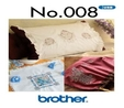 Brother USB Memory Stick No.008 Elegant Embroidery Designs