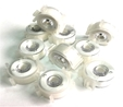 Brother White Pre Wound Bobbins 10pk #60
