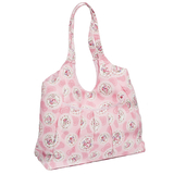 Cameo Floral Pink Soft Tote Bag