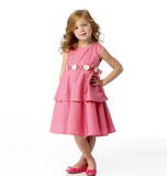 Children's Dress B5868 3, 4, 5, 6