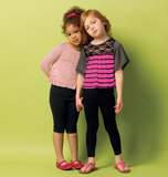 Childrens Girls Top and Leggings Pattern B5913 Size 2,3,4,5