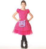 McCalls M7112/CHJ | Children's/Girls Dresses Belt and Purse | Size (7-8-10-12-14) | Sewing Pattern