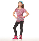 Children's/Girls' Plus Tops, Dress, Leggings and Head Band M7114 Sizes 7, 8, 10, 12, 14