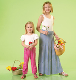 Children's/Girls' Skirts and Pants M7113 Sizes 3, 4, 5, 6