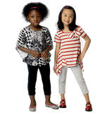 Children's/Girls' Top and Leggings B6005 Sizes 2, 3, 4, 5, 6, 7, 8