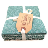 Classic Sage Colours Fat Quarters, Pack of 6
