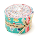 Cozy Christmas Rollie Pollie Fabric 40 Pack